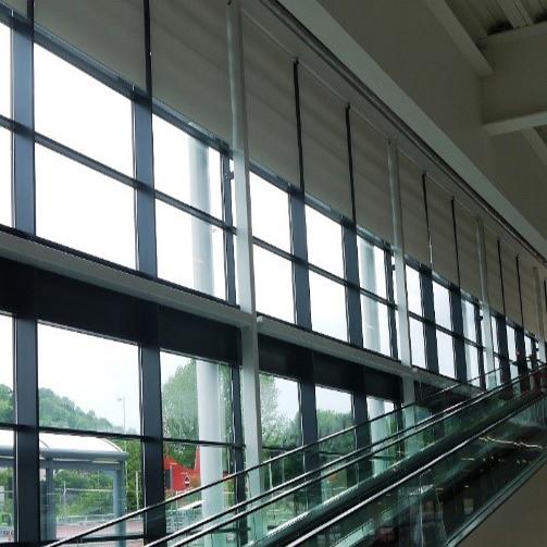 Heavy Duty Electric Roller Blinds: Sainsbury's, Pontypridd
