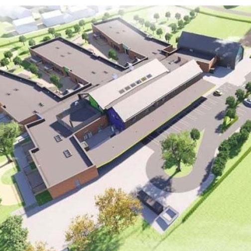 Polden Bower SEN school, Somerset