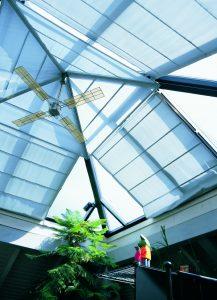 2195 System Skylight blinds