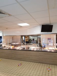 Type 2 Perspex screen at Prince Charles Hospital
