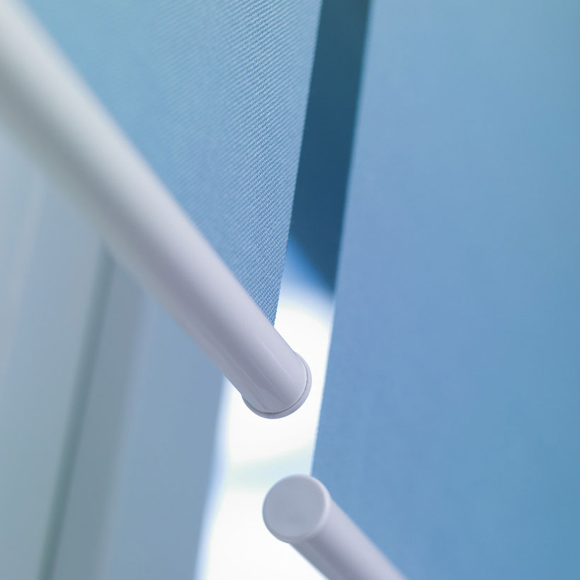 Solaris roller blinds for healthcare