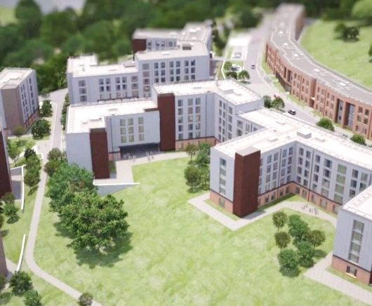 Student accommodation campus, Exeter