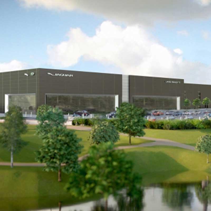 Jaguar Land Rover Dealership, Bristol