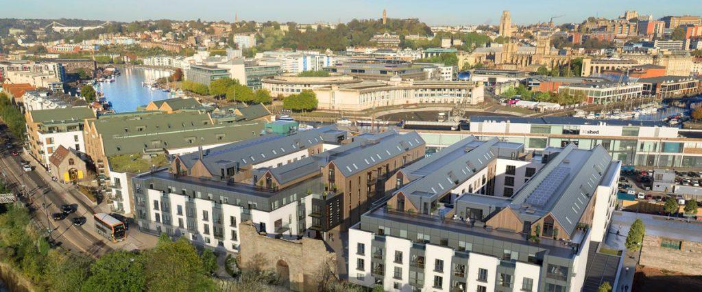 Wapping Wharf Residential Development, Bristol
