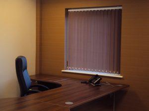Office vertical blinds