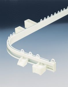 Silent Gliss cubicle track components