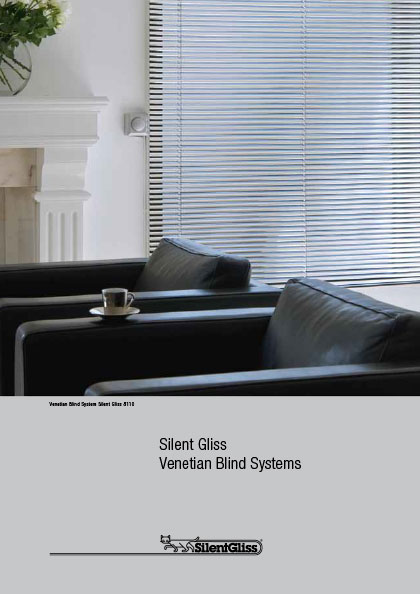 Silent Gliss venetian blind systems