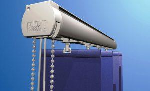 Slimline vertical blind system