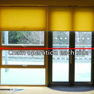 Side by side blinds | Swanmac Ltd