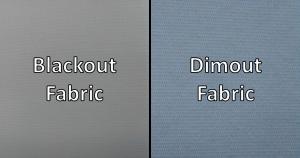 Blackout vs Dimout Blind Fabric | Swanmac